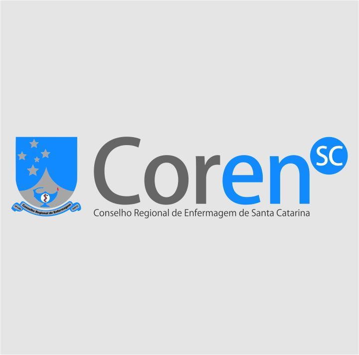 Logo da entidade CONSELHO REGIONAL DE ENFERMAGEM DE SANTA CATARINA - COREN