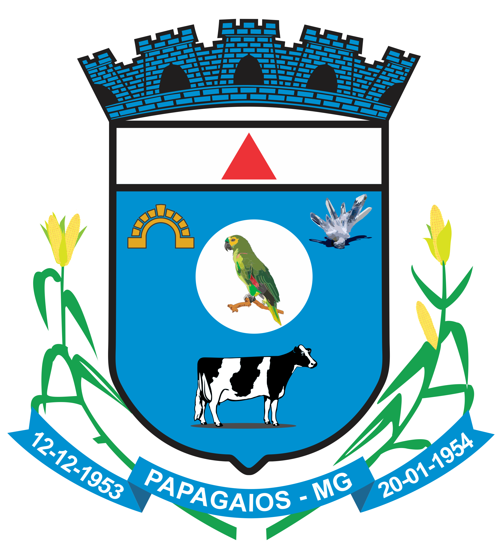 Logo da entidade CÂMARA MUNICIPAL DE PAPAGAIOS - MG