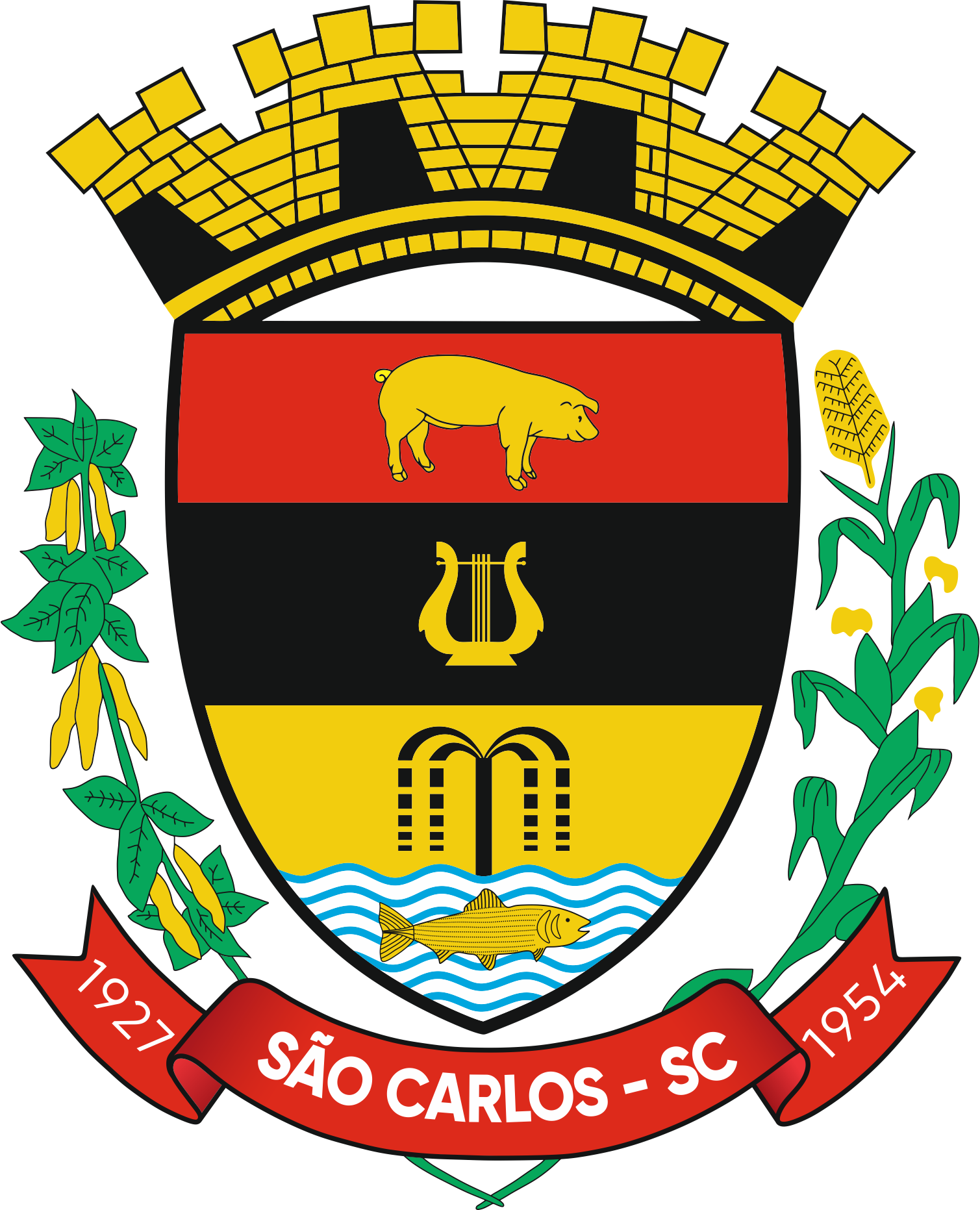 Logo da entidade Município de São Carlos