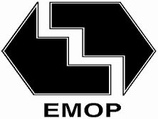 Logo da entidade EMOP Empresa Municipal de Obras Públicas e Serviços