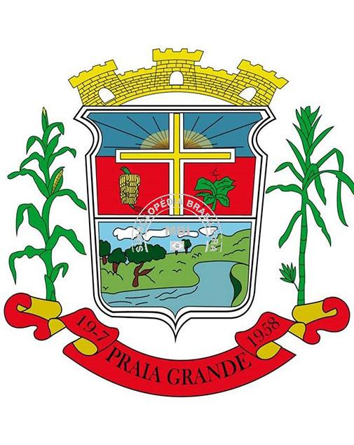 Logo da entidade Município de Praia Grande/SC