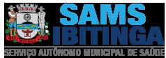 Logo da entidade SERVIÇO AUTÔNOMO MUNICIPAL DE SAÚDE - SAMS DE IBITINGA