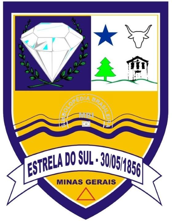Logo da entidade P.M. Estrela do Sul