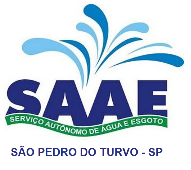 Logo da SERVIÇO AUTONOMO DE AGUA E ESGOTO DE SÃO PEDRO DO TURVO