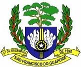 Logo da entidade Prefeitura Municipal de São Francisco do Guaporé
