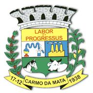 Logo da entidade PREFEITURA MUNICIPAL DE CARMO DA MATA - MG