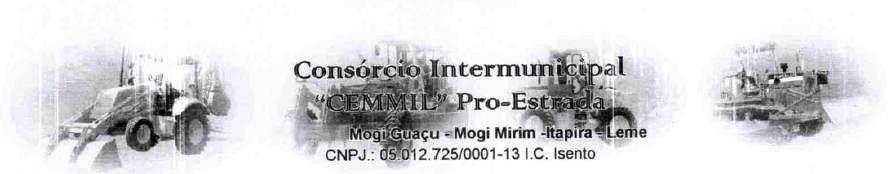 Logo da entidade CONSÓRCIO INTERMUNICIPAL CEMMIL - PRO-ESTRADA (Itapira - Leme - Mogi Guaçu - Mogi Mirim)